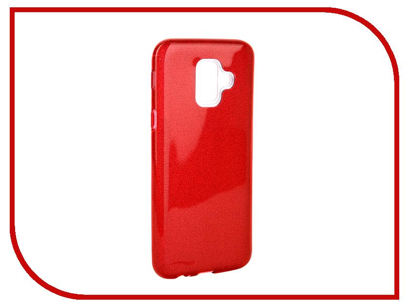 Аксессуар Чехол для Samsung Galaxy A6 2018 Neypo Brilliant Red Crystals NBRL5045 аксессуар чехол для samsung galaxy a8 2018 neypo brilliant silicone purple crystals nbrl3711
