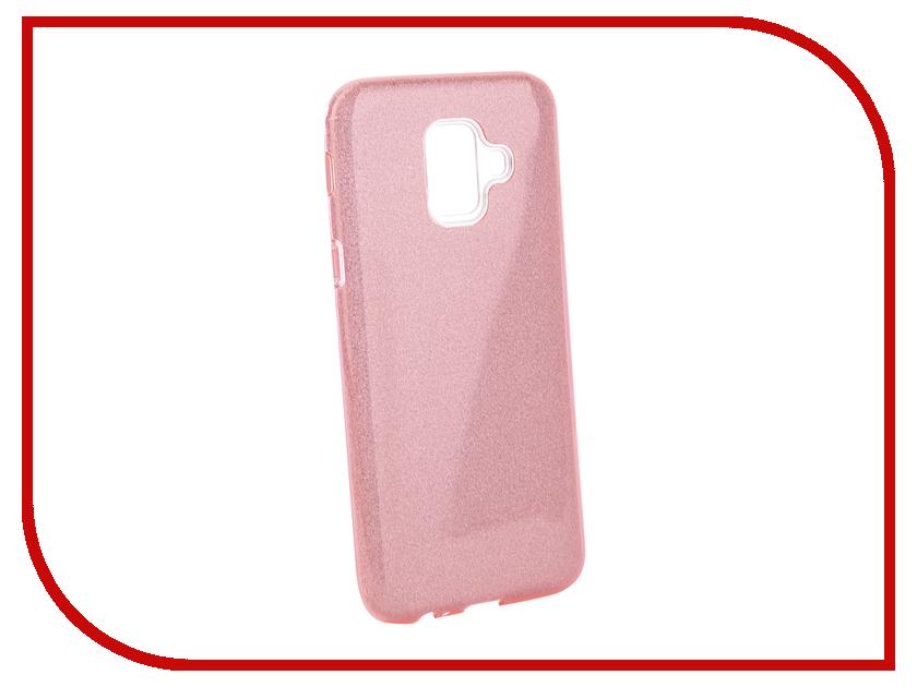 Аксессуар Чехол для Samsung Galaxy A6 2018 Neypo Brilliant Pink Crystals NBRL5061 аксессуар