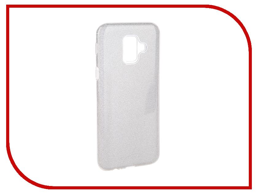 Аксессуар Чехол для Samsung Galaxy A6 2018 Neypo Brilliant Silver Crystals NBRL5062 аксессуар