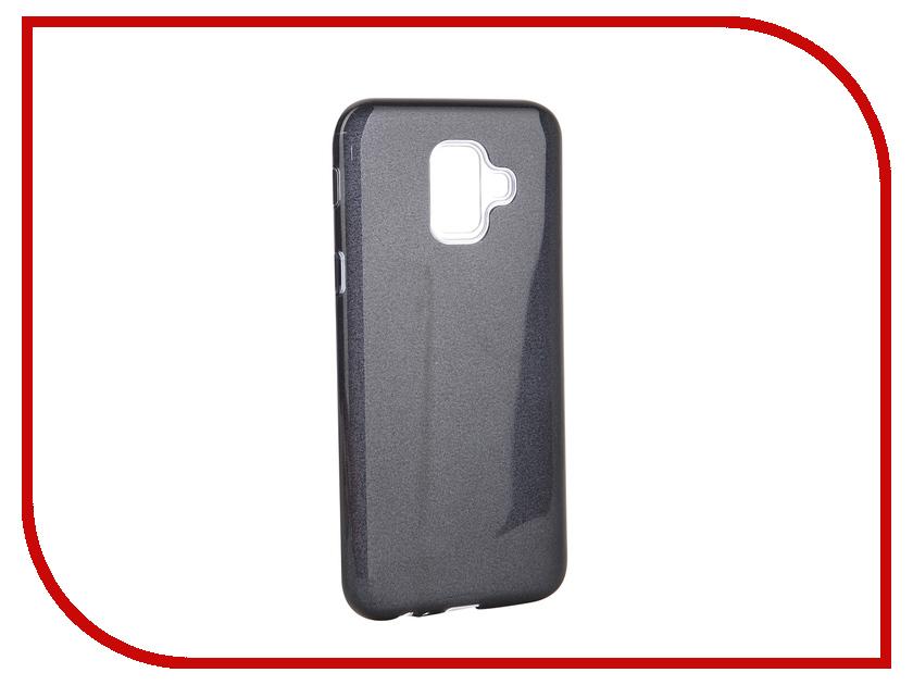 Аксессуар Чехол для Samsung Galaxy A6 2018 Neypo Brilliant Black Crystals NBRL5064 аксессуар чехол samsung j3 2017 j330f zibelino clear view black zcv sam j330 blk