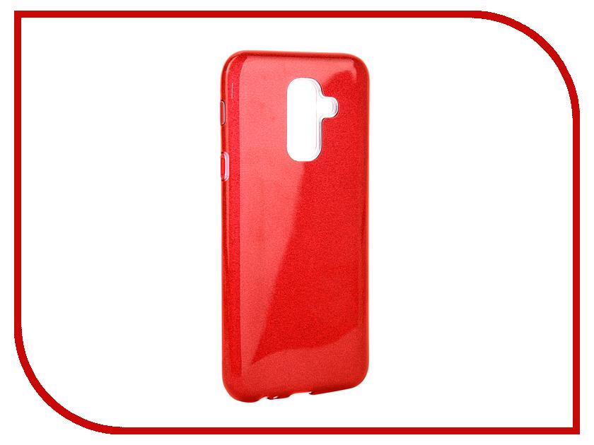Аксессуар Чехол для Samsung Galaxy A6 Plus 2018 Neypo Brilliant Red Crystals NBRL4854 аксессуар чехол для samsung galaxy a8 2018 neypo brilliant silicone purple crystals nbrl3711