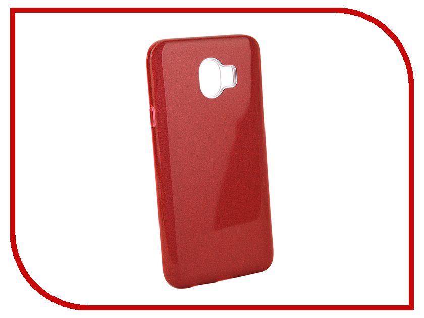 Аксессуар Чехол для Samsung Galaxy J4 2018 Neypo Brilliant Red Crystals NBRL4858 аксессуар чехол для samsung galaxy a8 2018 neypo brilliant silicone purple crystals nbrl3711