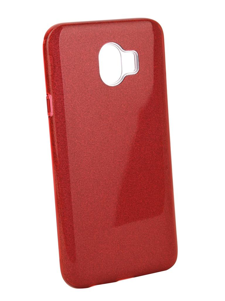 Аксессуар Чехол Neypo для Samsung Galaxy J4 2018 Brilliant Red Crystals NBRL4858