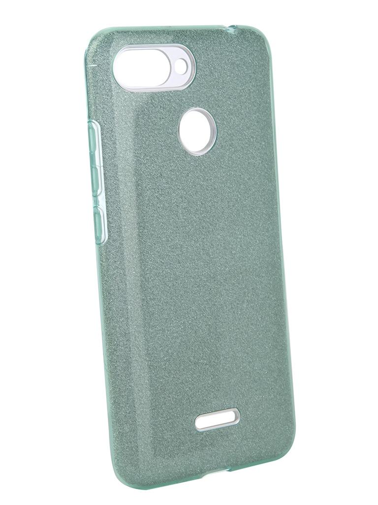 Аксессуар Чехол Neypo для Xiaomi Redmi 6 Brilliant Turquoise Crystals NBRL5300 защитное стекло vsp flex для xiaomi mi a2 lite