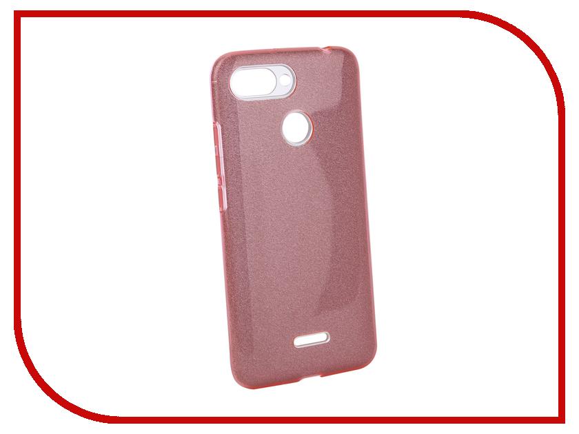 Аксессуар Чехол для Xiaomi Redmi 6 Neypo Brilliant Pink Crystals NBRL5307 аксессуар чехол для xiaomi redmi 5 plus neypo brilliant silicone purple crystals nbrl4042