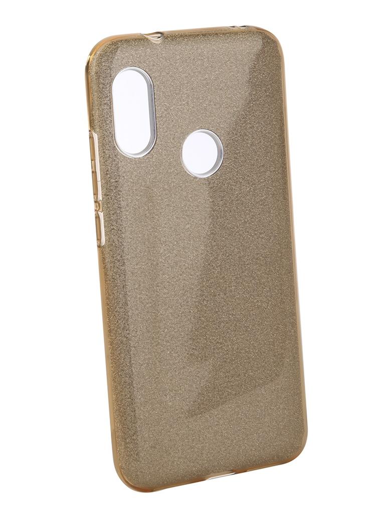 Аксессуар Чехол Neypo для Xiaomi Redmi 6 Pro Brilliant Gold Crystals NBRL5318