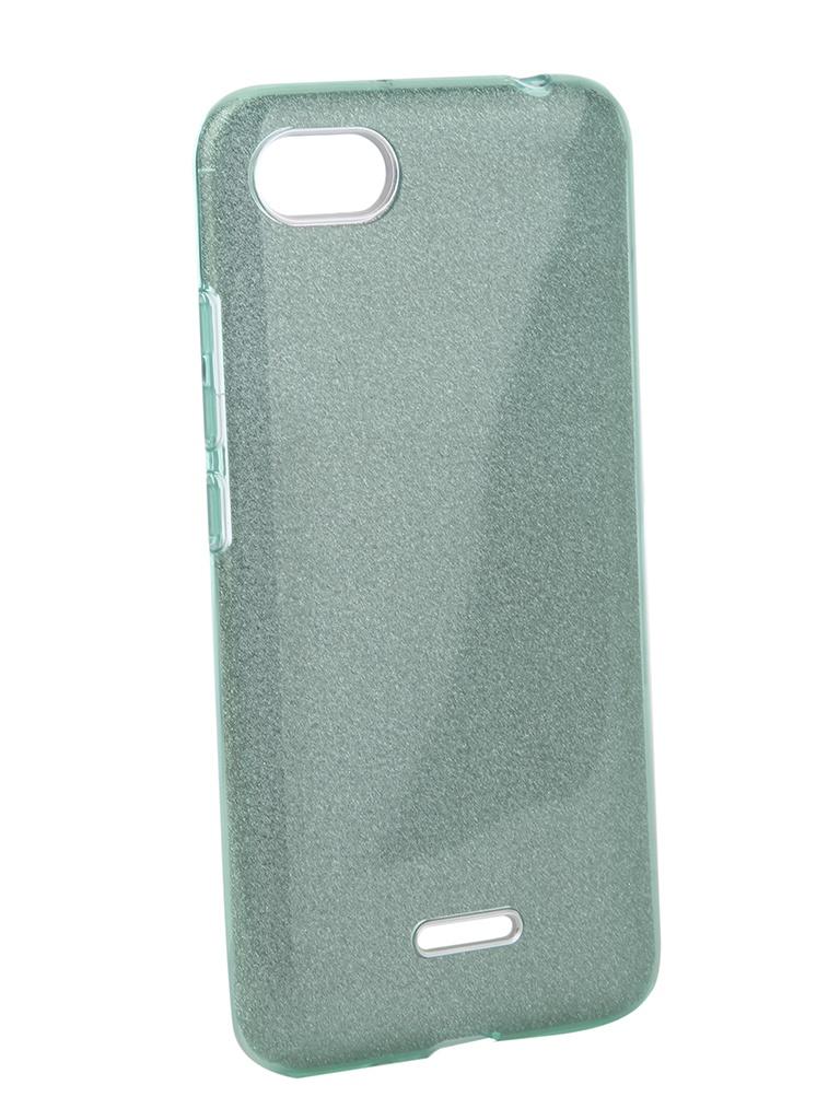 Аксессуар Чехол Neypo для Xiaomi Redmi 6A Brilliant Turquoise Crystals NBRL5341