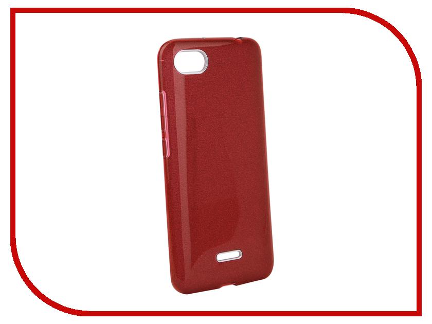 Аксессуар Чехол для Xiaomi Redmi 6A Neypo Brilliant Red Crystals NBRL5344 чехол книжка red line book type для xiaomi redmi 5 black