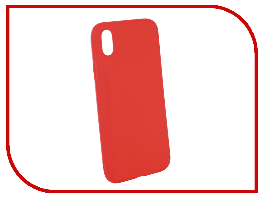 Аксессуар Чехол для APPLE iPhone XR Neypo Soft Matte Red NST5452 аксессуар чехол для apple iphone xs neypo soft matte red nst5457