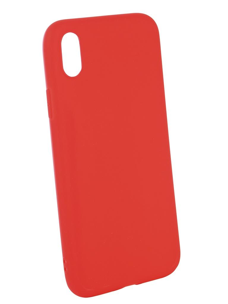 Чехол Neypo для APPLE iPhone XR Soft Matte Red NST5452
