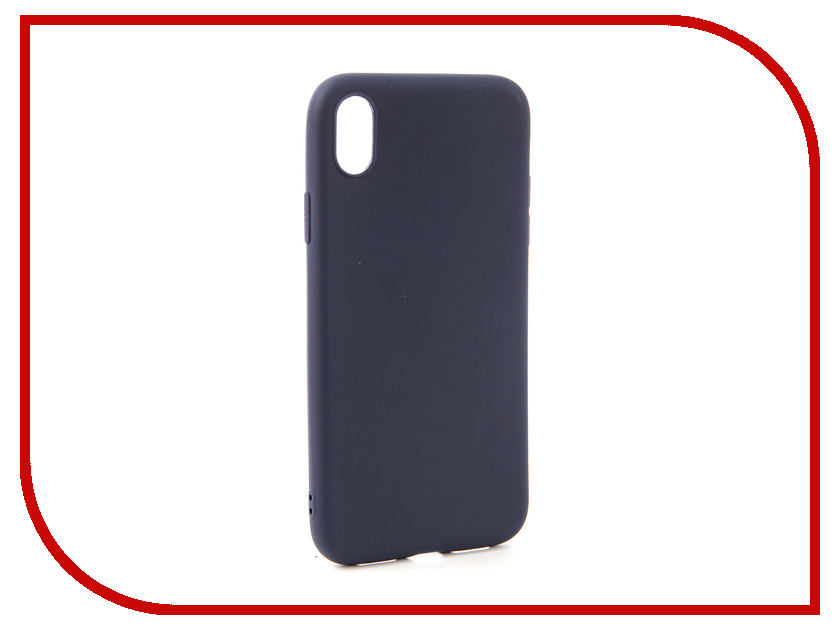 Аксессуар Чехол для APPLE iPhone XR Neypo Soft Matte Dark Blue NST5451