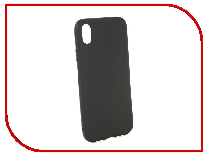 Аксессуар Чехол для APPLE iPhone XR Neypo Soft Matte Black NST4986 cam in matte soft screw shutter release button for leica hasselblad more black convex