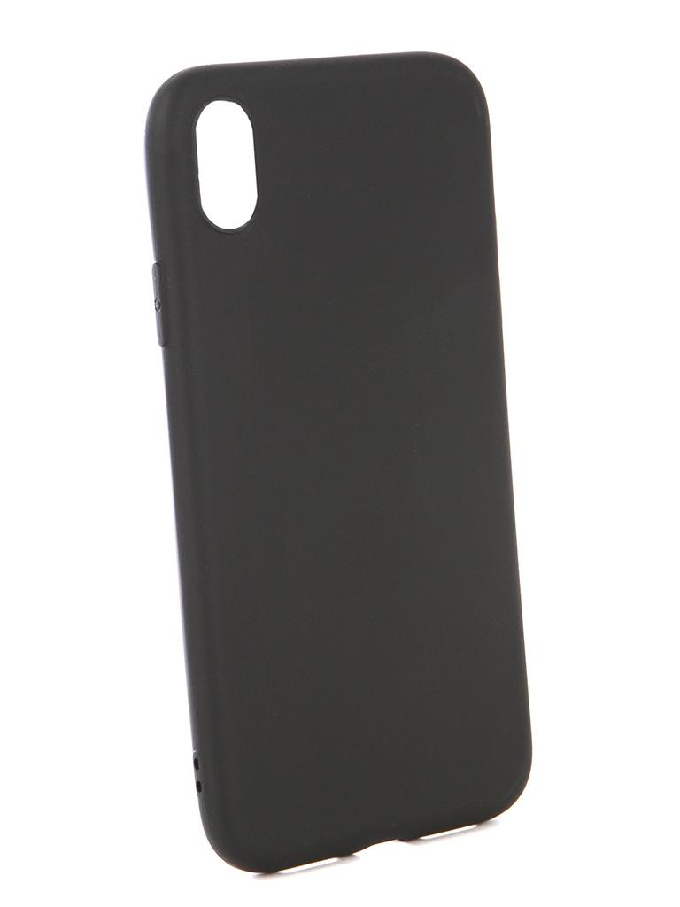 Фото - Аксессуар Чехол Neypo для APPLE iPhone XR Soft Matte Black NST4986 аксессуар