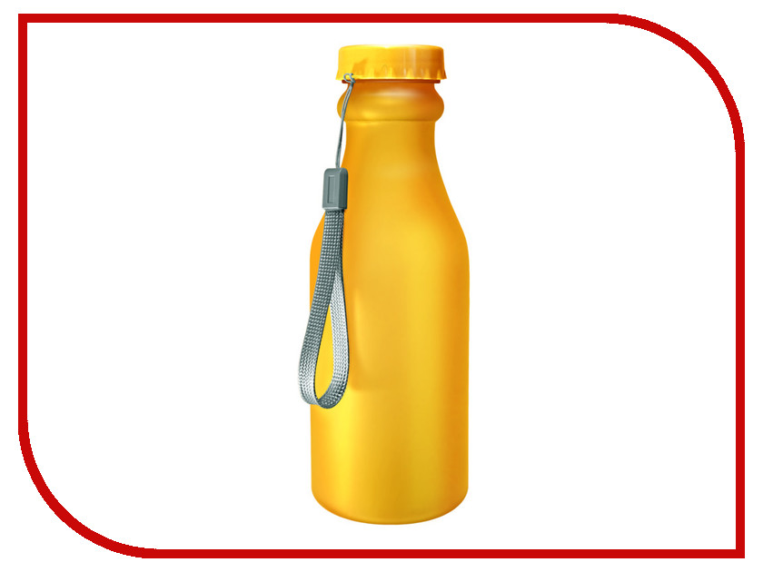 Бутылка Be First 500ml Yellow Matte бутылка be first 500ml red matte
