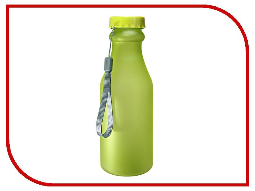 Бутылка Be First 500ml Green Matte шейкер be first 500ml transparent ts1327 blk