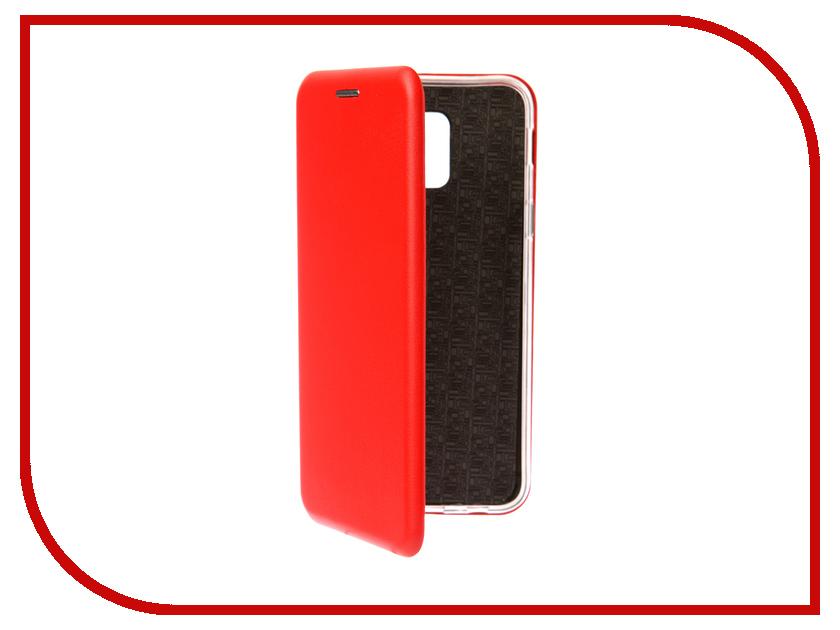 Купить Аксессуар Чехол для Samsung Galaxy A6 2018 Neypo Premium Red NSB4521