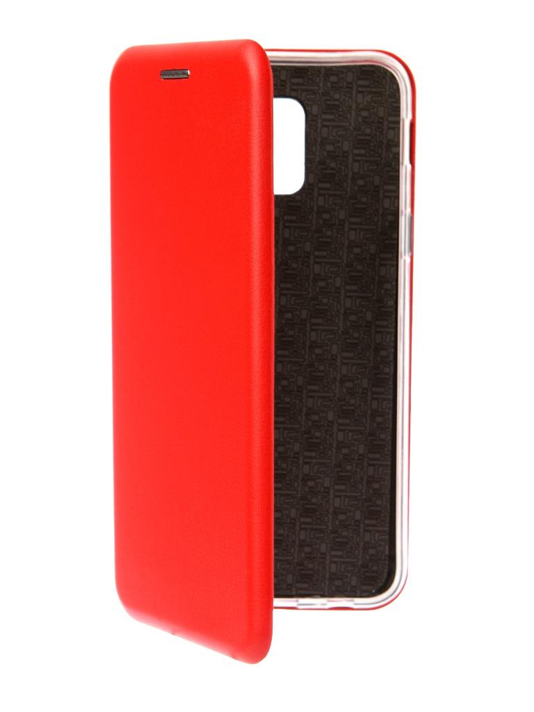 Аксессуар Чехол Neypo для Samsung Galaxy A6 2018 Premium Red NSB4521 аксессуар чехол для samsung galaxy a6 plus 2018 neypo soft matte red nst4632
