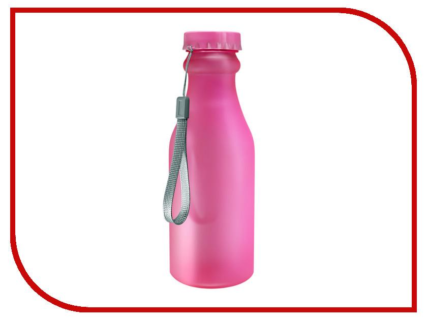 Бутылка Be First 500ml Pink Matte шейкер be first 500ml transparent ts1327 blk