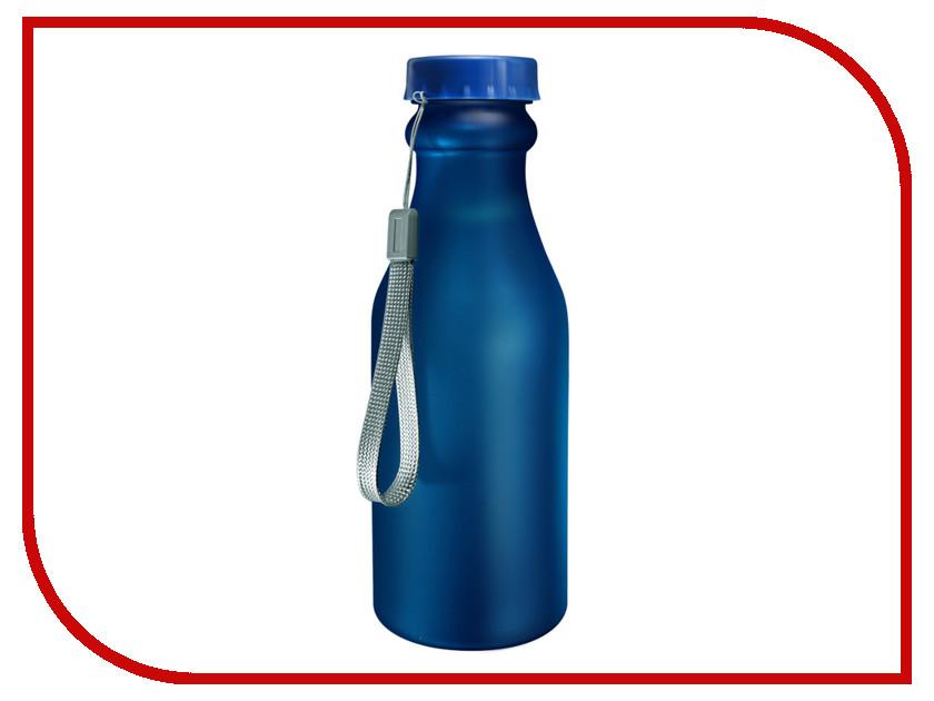 Бутылка Be First 500ml Blue Matte шейкер be first 500ml transparent ts1327 blk