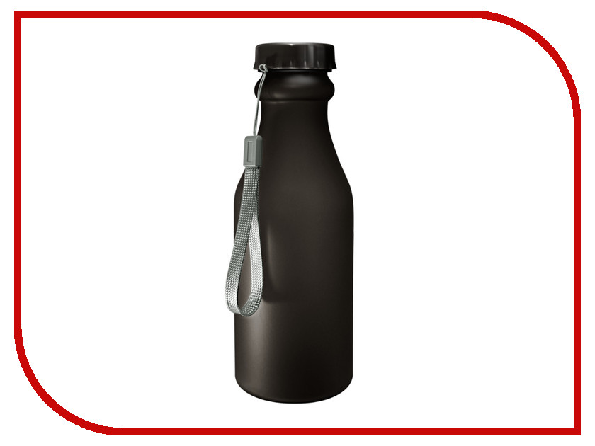 Бутылка Be First 500ml Black Matte шейкер be first 500ml black ts1255 blk