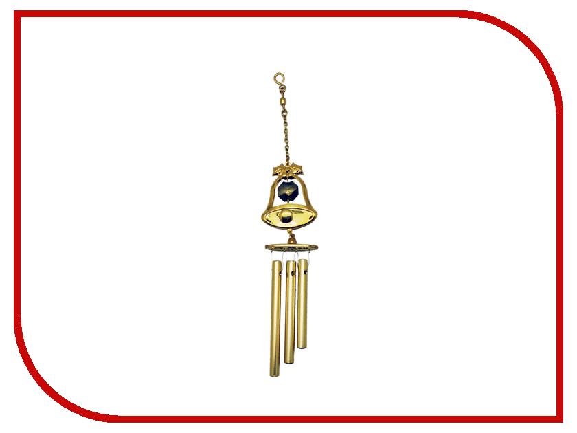 Новогодний сувенир Колокольчик виндчим Crystocraft с колокольчиком 299-019-GGT
