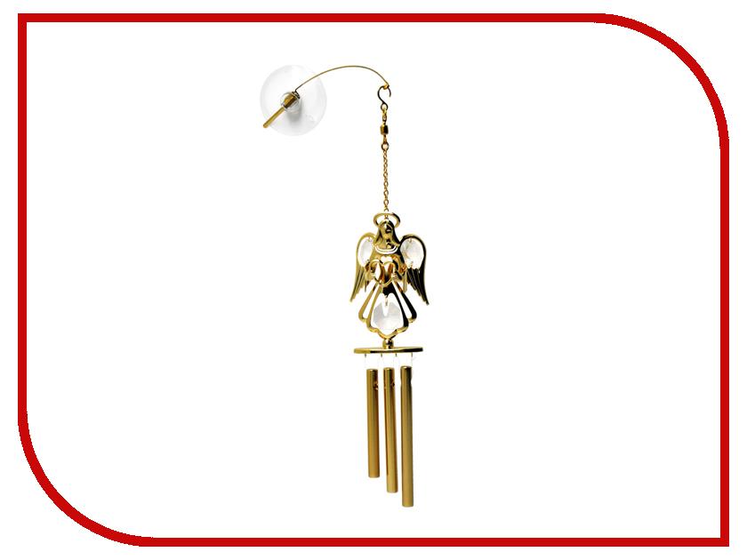 Новогодний сувенир Колокольчик виндчим Crystocraft с ангелом 15-019-GCL tor gcl 2х3