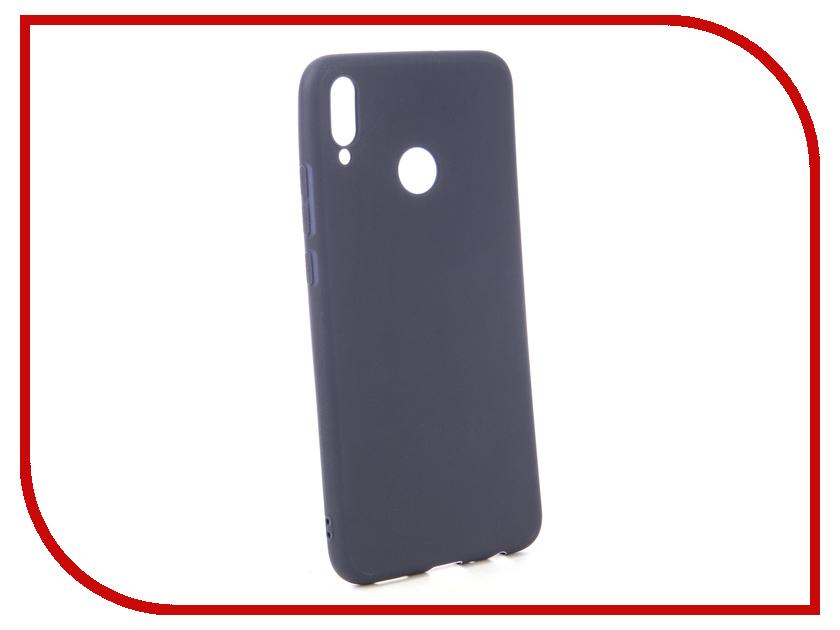 Аксессуар Чехол для Huawei Honor 8X Neypo Soft Matte Dark Blue NST5836