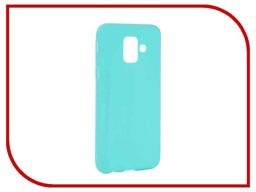Аксессуар Чехол для Samsung Galaxy A6 2018 Neypo Soft Matte Turqouise NST4630 аксессуар чехол для samsung galaxy a6 plus 2018 neypo soft matte dark blue nst4633