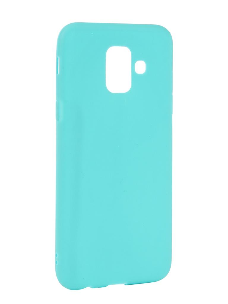Аксессуар Чехол Neypo для Samsung Galaxy A6 2018 Soft Matte Turqouise NST4630 аксессуар чехол для samsung galaxy a6 plus 2018 neypo soft matte red nst4632