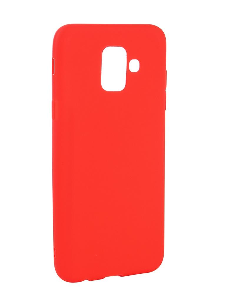 Аксессуар Чехол Neypo для Samsung Galaxy A6 2018 Soft Matte Red NST4628 аксессуар чехол для samsung galaxy a6 plus 2018 neypo soft matte red nst4632
