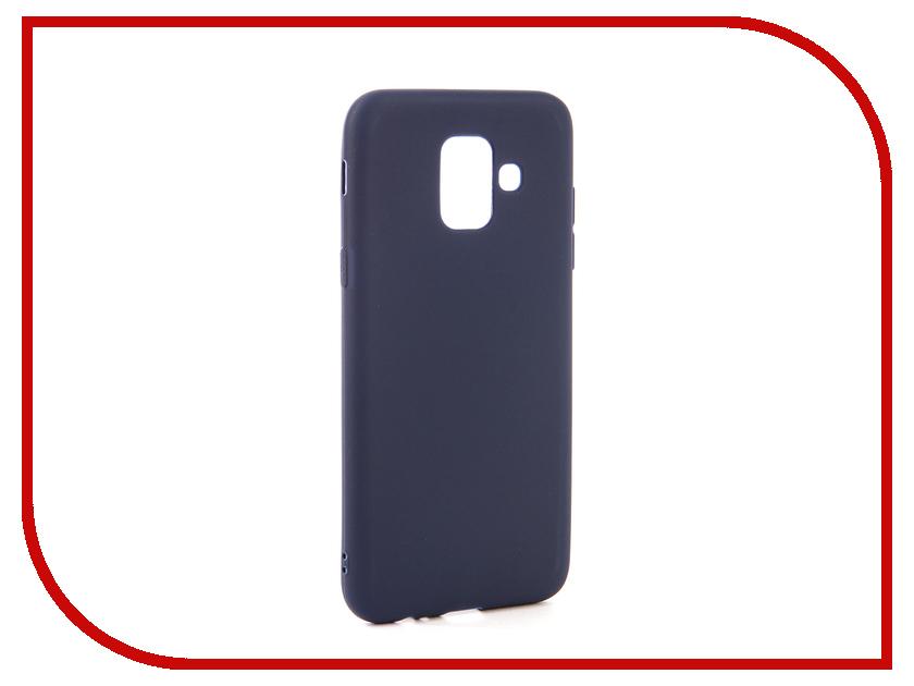 Аксессуар Чехол для Samsung Galaxy A6 2018 Neypo Soft Matte Dark Blue NST4629