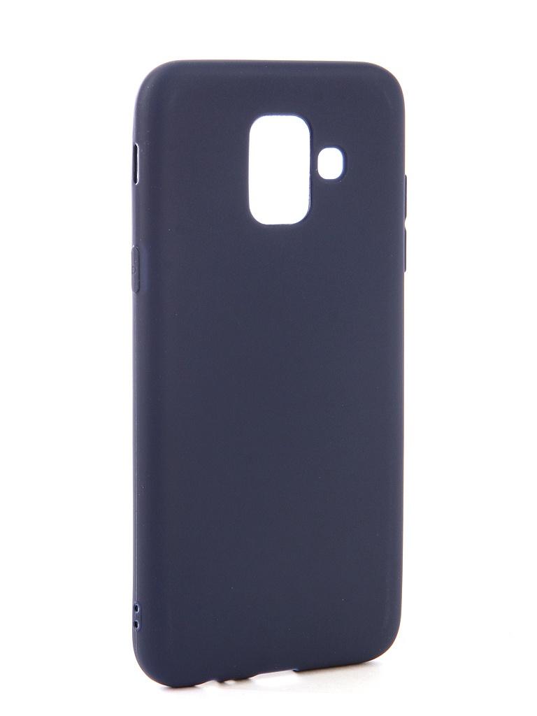 Аксессуар Чехол Neypo для Samsung Galaxy A6 2018 Soft Matte Dark Blue NST4629 аксессуар чехол для samsung galaxy a6 plus 2018 neypo soft matte red nst4632