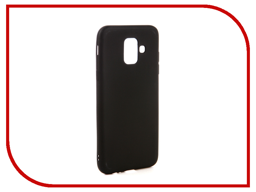 Аксессуар Чехол для Samsung Galaxy A6 2018 Neypo Soft Matte Black NST4555