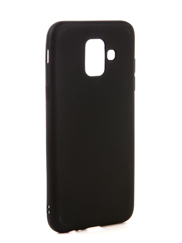 Аксессуар Чехол Neypo для Samsung Galaxy A6 2018 Soft Matte Black NST4555 аксессуар чехол для samsung galaxy a6 plus 2018 neypo soft matte red nst4632