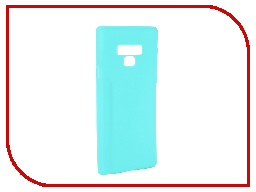 Аксессуар Чехол Neypo для Samsung Galaxy Note 9 Soft Matte Turqouise NST4904