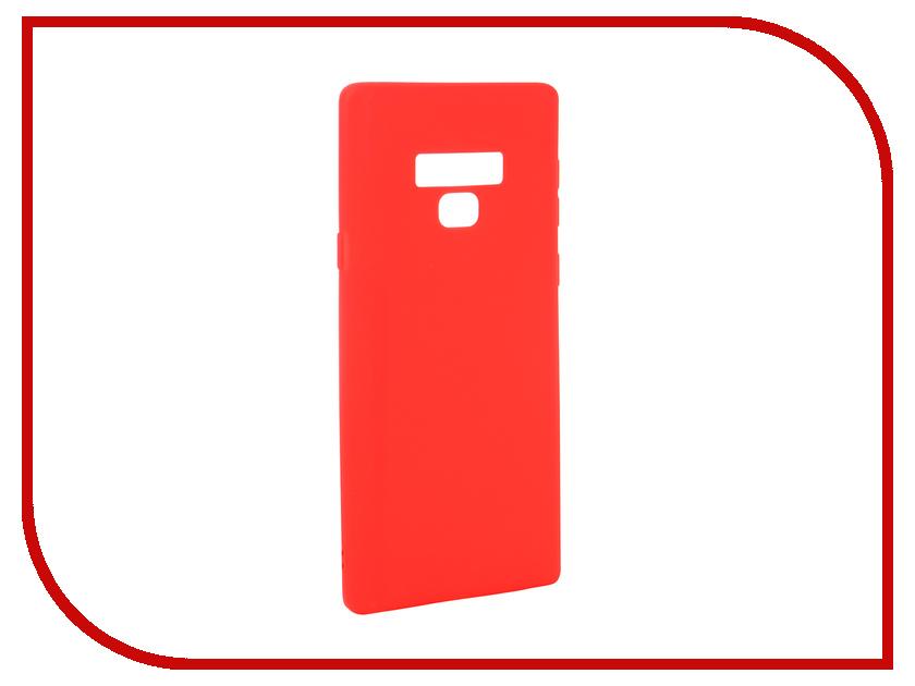 Аксессуар Чехол для Samsung Galaxy Note 9 Neypo Soft Matte Red NST4903 аксессуар защитная плёнка для samsung galaxy note 8 monsterskin 360 s matte