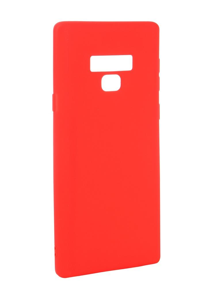 Аксессуар Чехол Neypo для Samsung Galaxy Note 9 Soft Matte Red NST4903 аксессуар чехол для samsung galaxy a6 plus 2018 neypo soft matte red nst4632