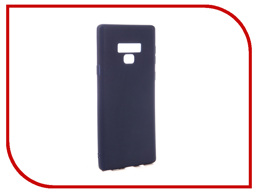 Аксессуар Чехол для Samsung Galaxy Note 9 Neypo Soft Matte Dark Blue NST5419 аксессуар