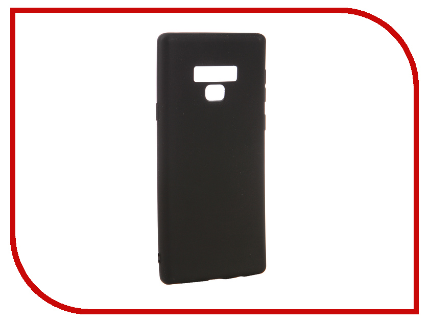 Аксессуар Чехол для Samsung Galaxy Note 9 Neypo Soft Matte Black NST4948 аксессуар чехол для xiaomi mi a1 neypo soft touch black st3324