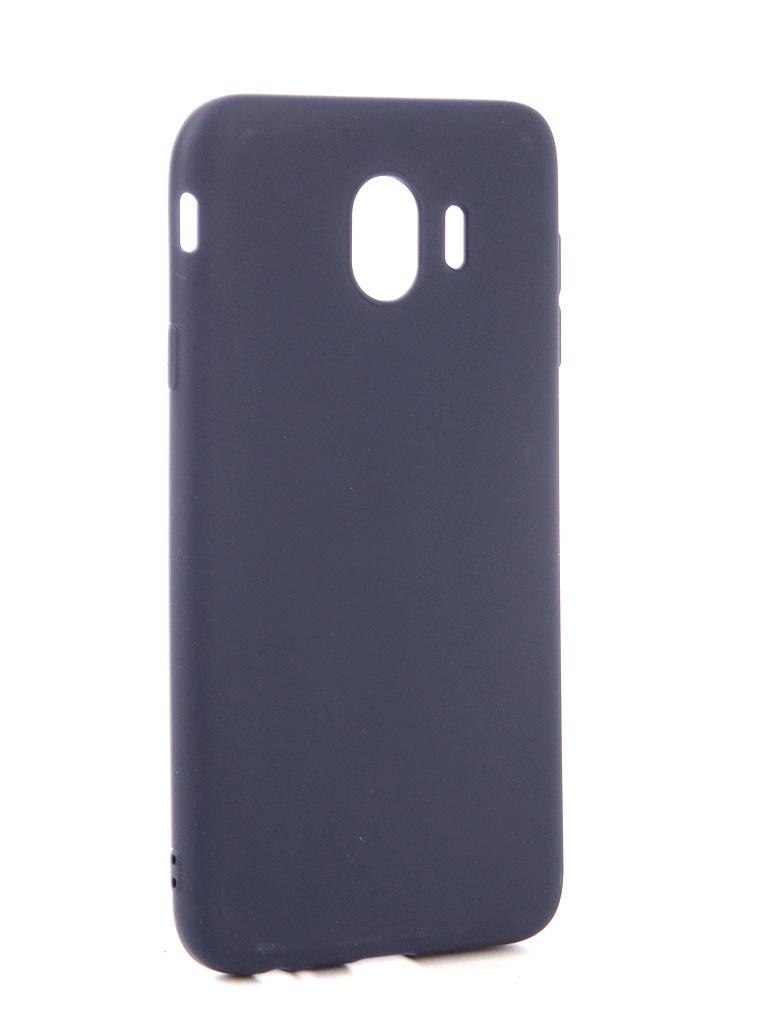 Аксессуар Чехол Neypo для Samsung Galaxy J4 2018 Soft Matte Dark Blue NST4623 аксессуар чехол для samsung j4 plus 2018 neypo soft matte dark blue nst5983