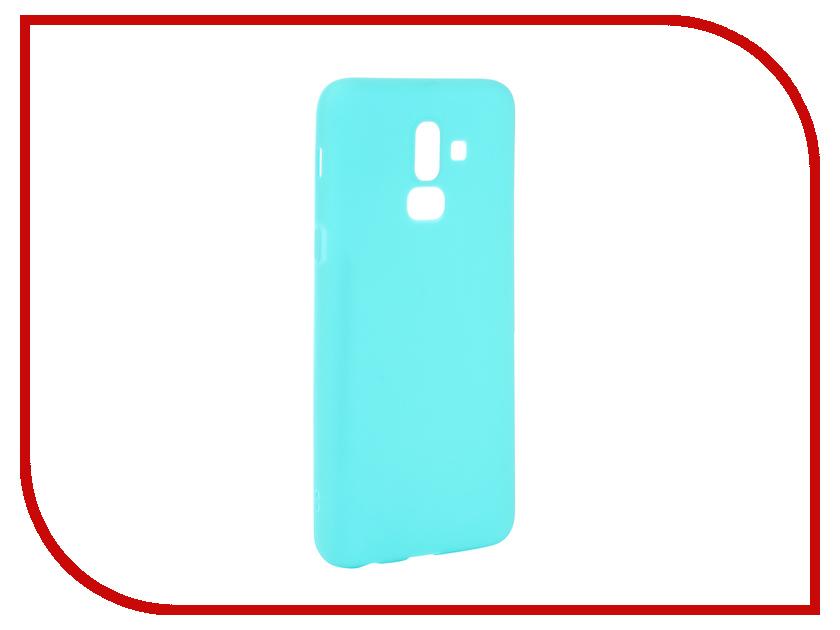 Аксессуар Чехол для Samsung Galaxy J8 2018 Neypo Soft Matte Turqouise NST4899 аксессуар чехол для samsung galaxy j8 2018 neypo soft matte silicone black nst4703