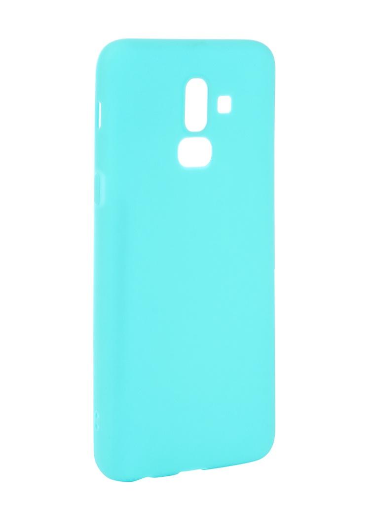 Аксессуар Чехол Neypo для Samsung Galaxy J8 2018 Soft Matte Turqouise NST4899 аксессуар чехол для samsung galaxy a6 plus 2018 neypo soft matte red nst4632