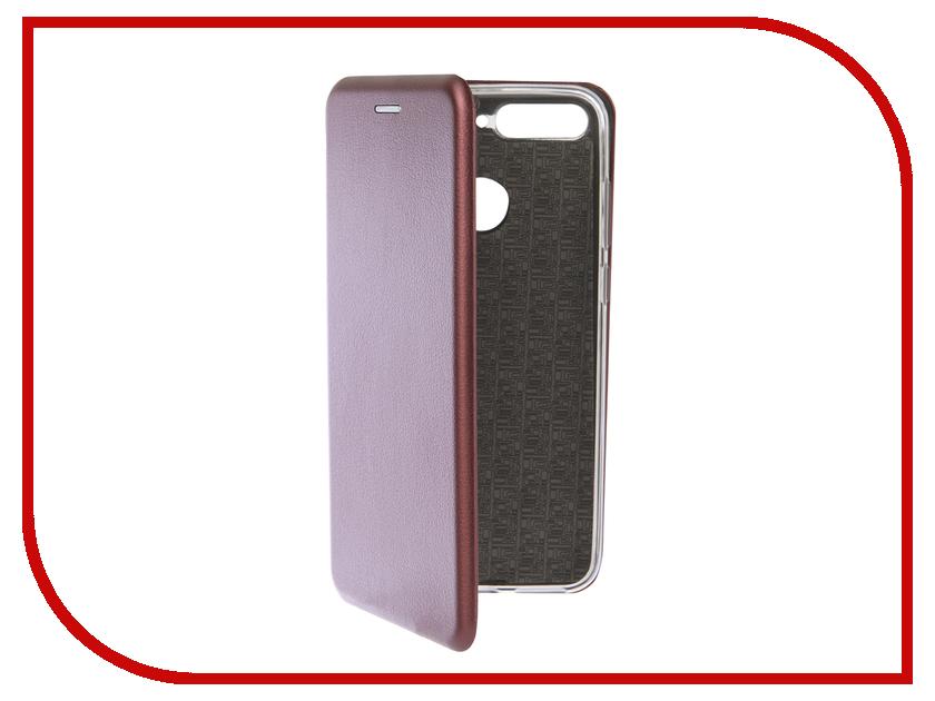Аксессуар Чехол для Huawei Honor 7C Neypo Premium Burgundy NSB5743 аксессуар