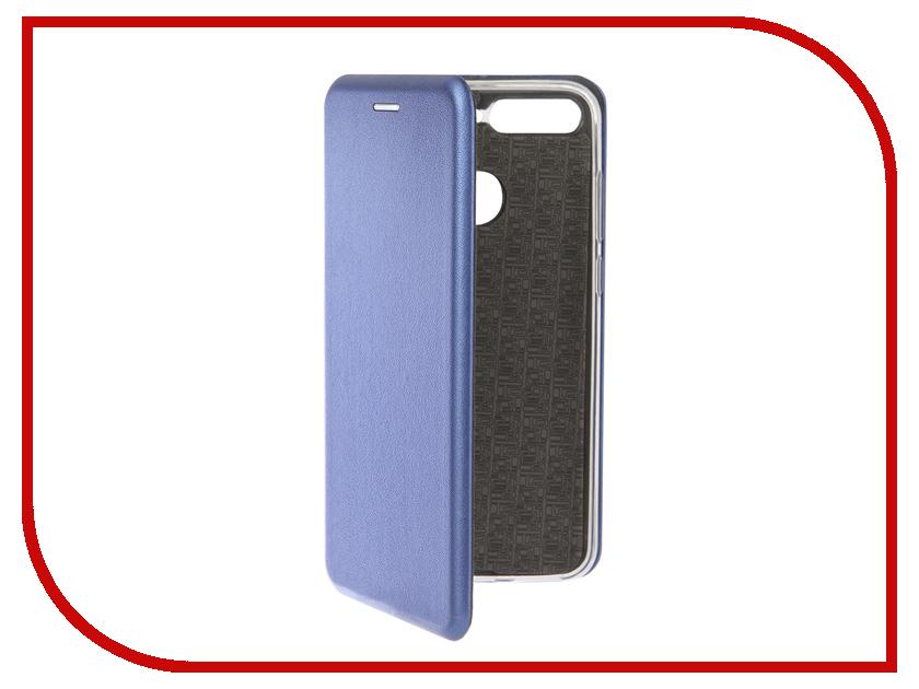 Чехол для Honor 7C Neypo Premium Blue NSB5565 чехол для honor 9 lite neypo premium black nsb4220