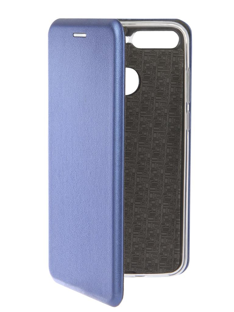 Фото - Аксессуар Чехол Neypo для Honor 7C Premium Blue NSB5565 аксессуар чехол для honor 7c neypo premium burgundy nsb5743