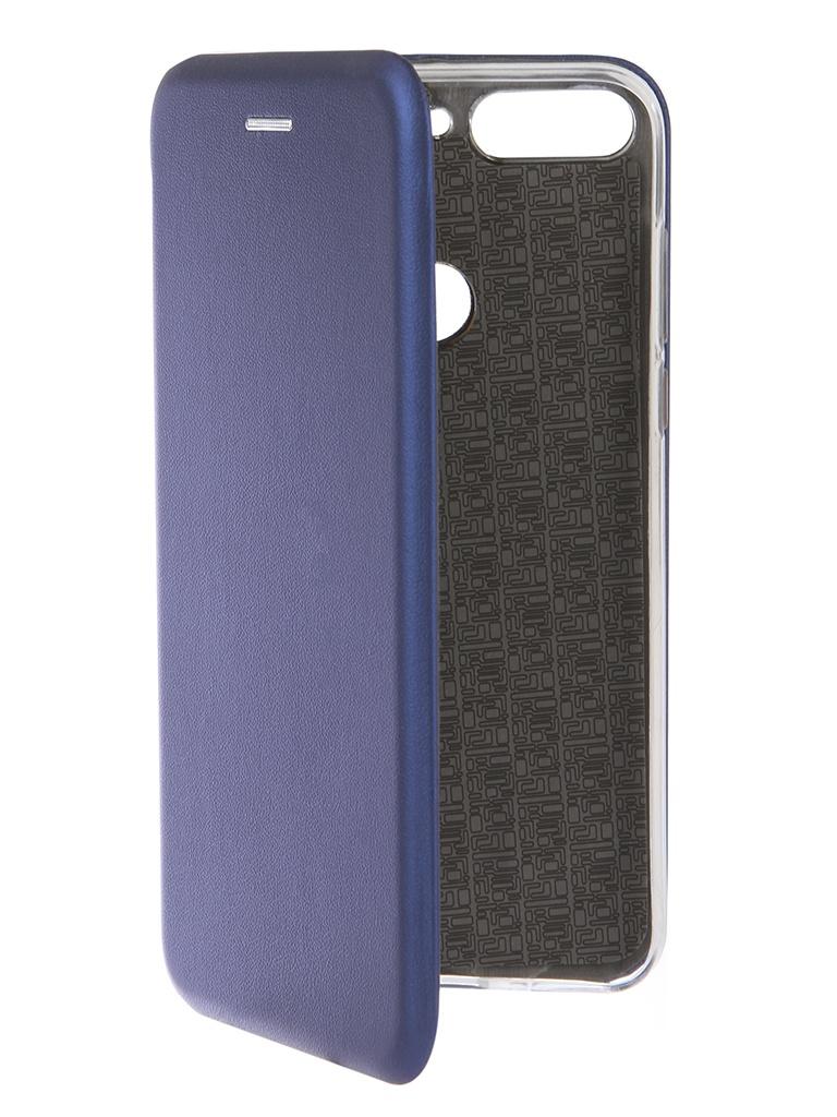 Фото - Аксессуар Чехол Neypo для Honor 7C Pro Premium Blue NSB5760 аксессуар чехол для honor 7c neypo premium burgundy nsb5743