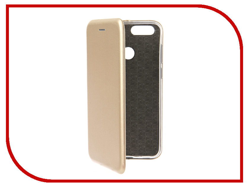 Аксессуар Чехол для Huawei Honor 7X Neypo Premium Gold NSB4213 аксессуар чехол huawei honor 7 aksberry gold
