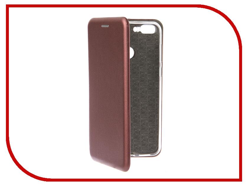 Аксессуар Чехол для Huawei P Smart Neypo Premium Burgundy NSB5745 чехол для honor 9 lite neypo premium burgundy nsb5757