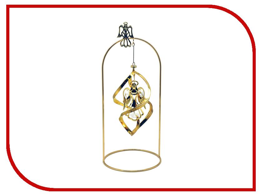 Новогодний сувенир Фигурка Crystocraft Ангел 14-096-GCL фигурки crystocraft фигурка ангел с голубем