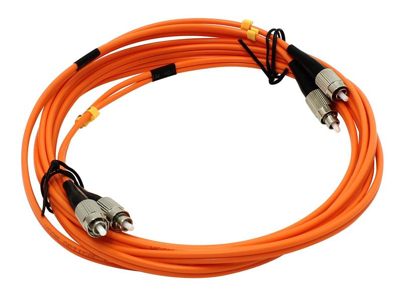 Сетевой кабель VCOM Optical Patch Cord FC-FC UPC Duplex 3m VDU101-3M
